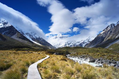 Mt Cook「Track To Mt Cook」:スマホ壁紙(19)