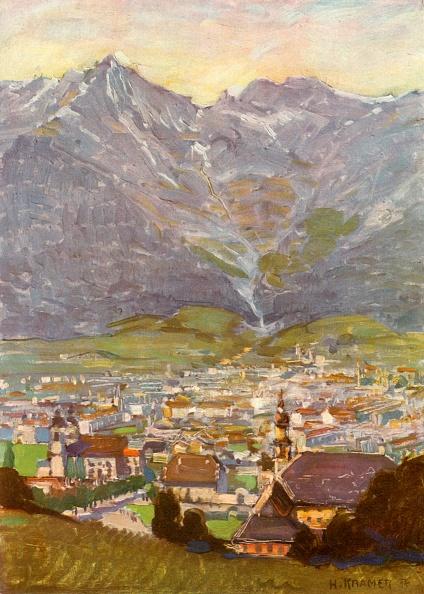 北チロル「Blick Vom Berg Isel Auf Innsbruck」:写真・画像(8)[壁紙.com]