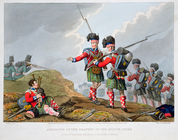 Kilt「Highland Troops At The Battle Of Vimeiro Peninsular War 1808 (1816)」:写真・画像(19)[壁紙.com]