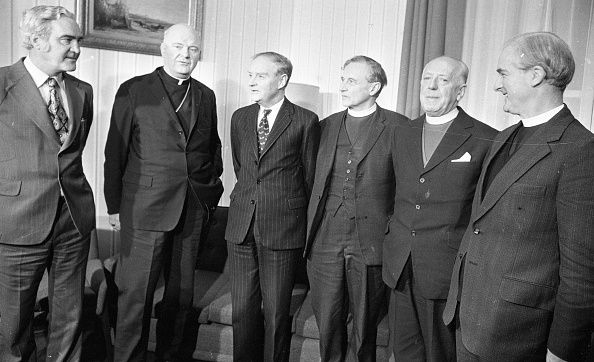 Methodist「Church Leaders Meet the Taoiseach in Government Buldings 1975」:写真・画像(3)[壁紙.com]
