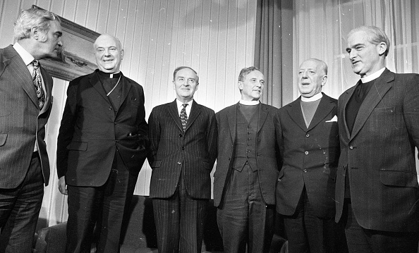 Methodist「Church Leaders Meet the Taoiseach in Government Buldings 1975」:写真・画像(13)[壁紙.com]