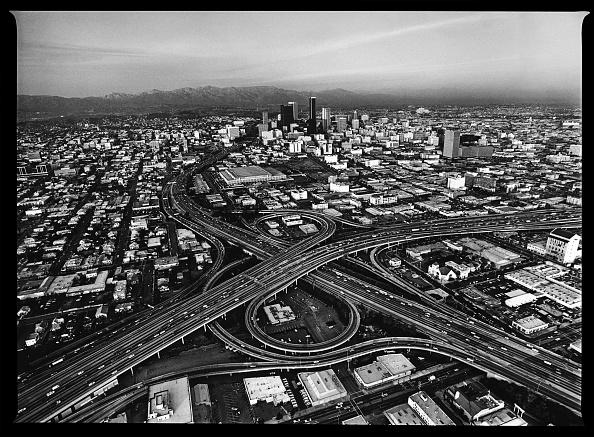 ロサンゼルス市「Aerial Photo of Downtown Los Angeles」:写真・画像(14)[壁紙.com]