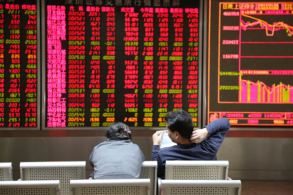 Stock Market and Exchange「Shanghai Composite Index Rebounds On Wednesday」:写真・画像(4)[壁紙.com]