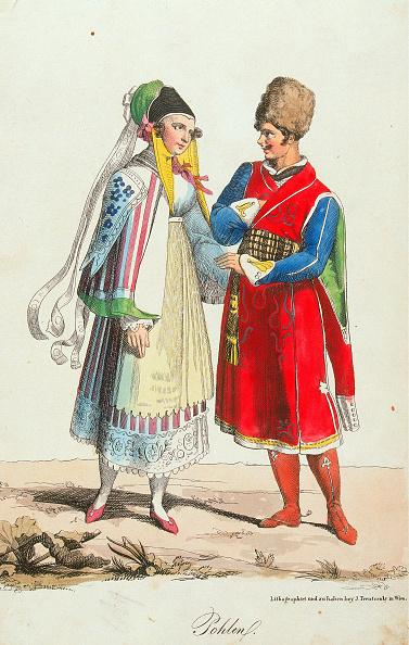 1820-1829「Trentsenskys Peoples Costumes」:写真・画像(16)[壁紙.com]