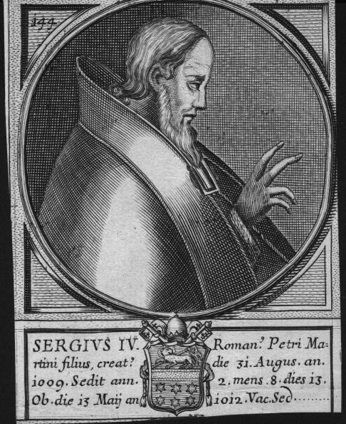 Spencer Arnold Collection「Sergius IV」:写真・画像(13)[壁紙.com]