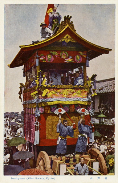 City Life「Merchant float at the Gion festival, Kyoto」:写真・画像(12)[壁紙.com]