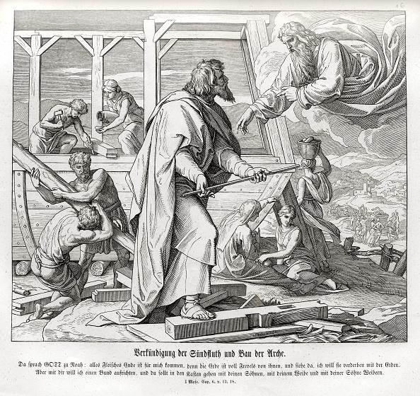 God「God warns Noah of the flood and instructs him to build an ark」:写真・画像(2)[壁紙.com]