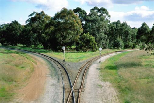 Decisions「Train tracks diverging」:スマホ壁紙(14)