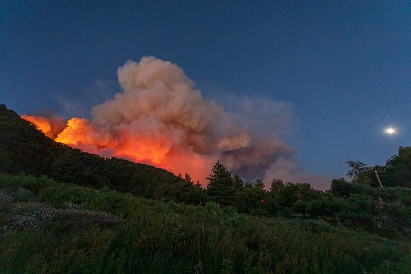 San Bernardino National Forest「Apple Fire In Southern California Forces Evacuations」:写真・画像(14)[壁紙.com]