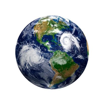 Tropical Storm「Typhoons - Earth view of America」:スマホ壁紙(3)