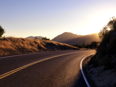 Dividing Line - Road Marking「Winding road」:スマホ壁紙(15)