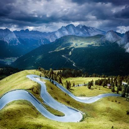 Mountain Road「Winding road」:スマホ壁紙(18)