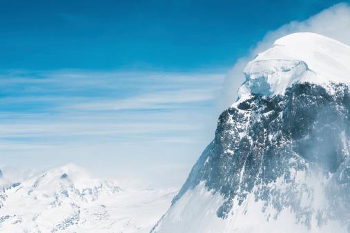Ski Resort「Snow at mountain peaks」:スマホ壁紙(4)