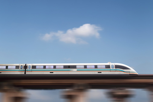 Public Utility「Maglev train in Shanghai,China」:スマホ壁紙(9)