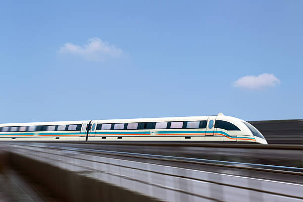 Maglev train in Shanghai,China:スマホ壁紙(壁紙.com)