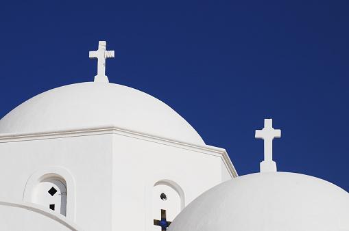 パトモス島「White church」:スマホ壁紙(6)