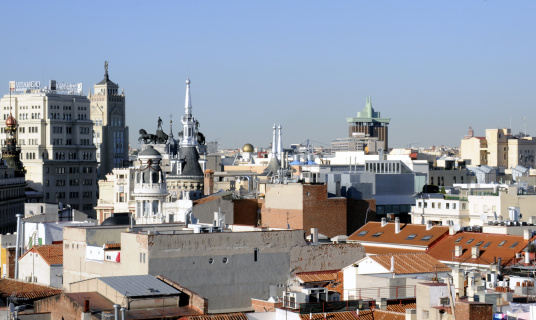Ferrari「October 2008. Madrid, Spain. View of Madrid」:スマホ壁紙(8)