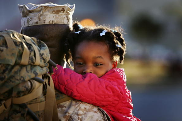 Military「Camp Pendleton Marines Return After One-Year Deployment To Iraq」:写真・画像(19)[壁紙.com]
