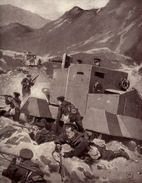 Physical Geography「British Armoured Cars In The Caucasus」:写真・画像(17)[壁紙.com]