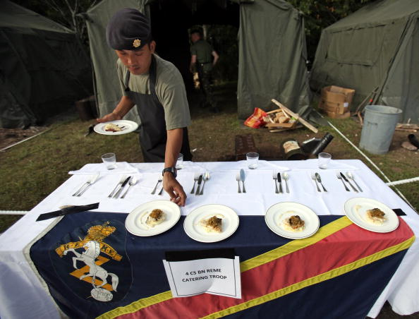 Food And Drink Industry「25 Military Cooking Teams Battle It Out In Field Catering Competition」:写真・画像(13)[壁紙.com]