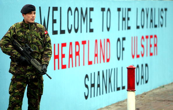 Mural「Protestant Paramilitary Chief Killed In Belfast Feud」:写真・画像(13)[壁紙.com]