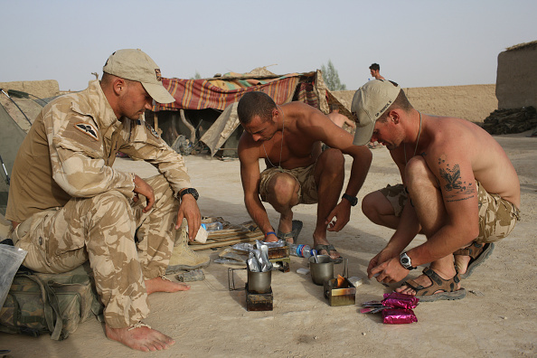 Ready-To-Eat「British Paratroopers Conduct Operation 'Southern Beast' In Afghanistan」:写真・画像(4)[壁紙.com]