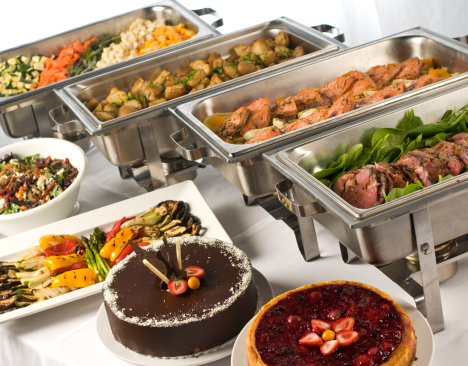 Buffet「Gourmet buffet with hot and cold dishes」:スマホ壁紙(12)