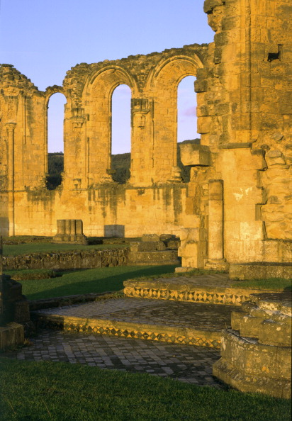 Tiled Floor「Byland Abbey, North Yorkshire, 1998. Artist: J Richards」:写真・画像(13)[壁紙.com]
