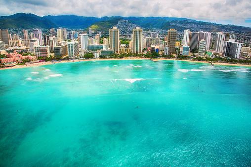 South Pacific Ocean「Waikiki Beach」:スマホ壁紙(5)