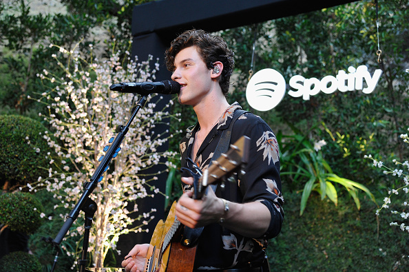 "Spotify「Shawn Mendes Meets His Biggest Fans from Spotify At a Special Event at a Private Garden In Beverly Hills to Celebrate His Self Titled Album ""Shawn Mendes""」:写真・画像(10)[壁紙.com]"
