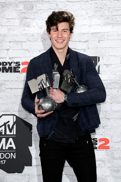 MTV Europe Music Awards「MTV EMAs 2017 - Winners Room」:写真・画像(3)[壁紙.com]