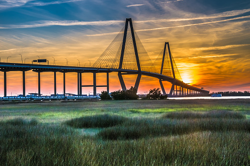 Charleston - South Carolina「The New Cooper River Bridge」:スマホ壁紙(5)
