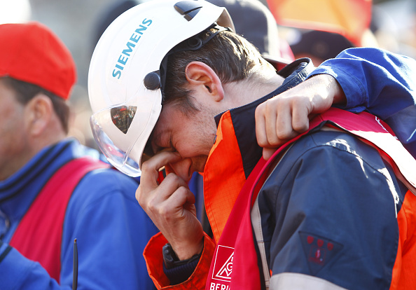 Downsizing - Unemployment「Siemens Workers Protest Layoffs」:写真・画像(9)[壁紙.com]