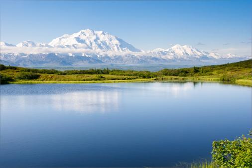 Alaska Range「Morning Reflection」:スマホ壁紙(5)
