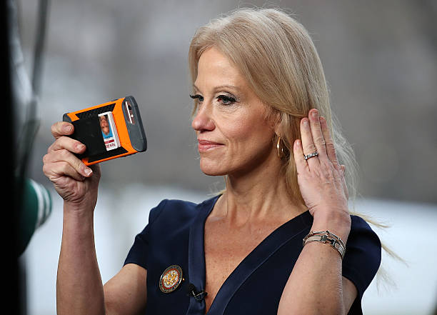 Kellyanne Conway Speaks To Morning Shows From Front Lawn Of White House:ニュース(壁紙.com)