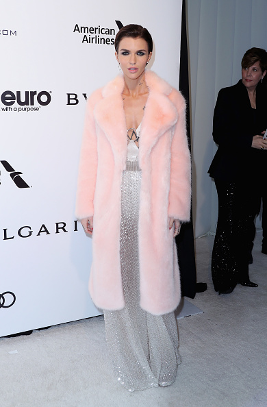 Pale Pink「25th Annual Elton John AIDS Foundation's Academy Awards Viewing Party - Arrivals」:写真・画像(1)[壁紙.com]