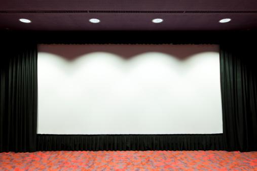 Awards Ceremony「Empty cinema projection screen」:スマホ壁紙(14)
