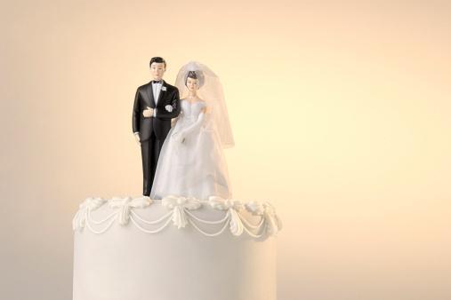 Married「Wedding cake topper」:スマホ壁紙(16)