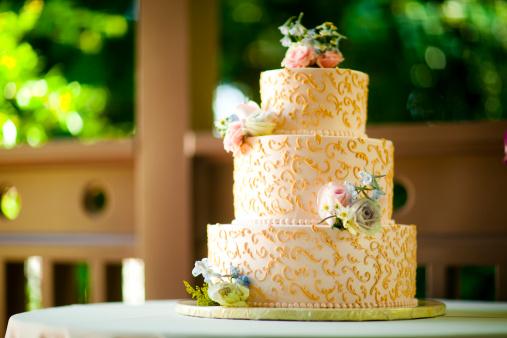 結婚「ウェディングケーキ」:スマホ壁紙(10)