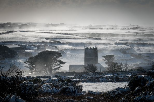 Snow「Britain Freezes As Siberian Weather Sweeps Across The Country」:写真・画像(11)[壁紙.com]