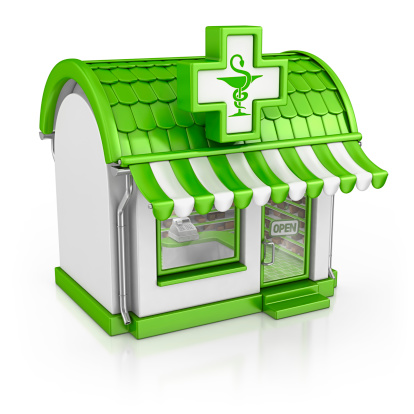 Digitally Generated Image「pharmacy」:スマホ壁紙(8)