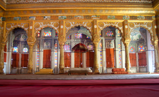 Rajasthan「Palatial room in Mehrangarh Fort, India」:スマホ壁紙(16)