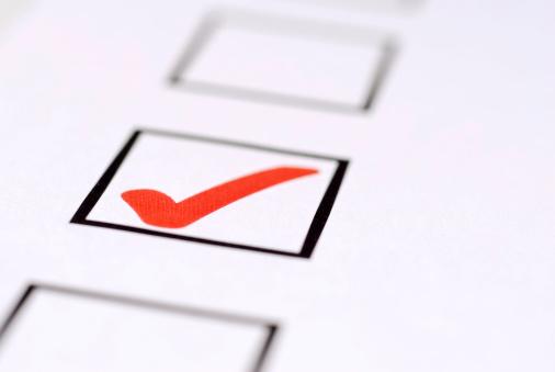 Voter Registration「Check Mark Close Up」:スマホ壁紙(11)