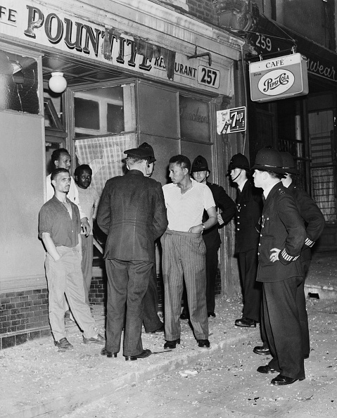 Black History in the UK「1958 Notting Hill Race Riots」:写真・画像(1)[壁紙.com]