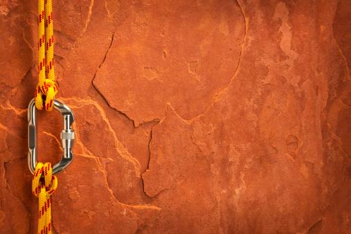 ロックミュージック「登山用具に、レッドロック」:スマホ壁紙(12)