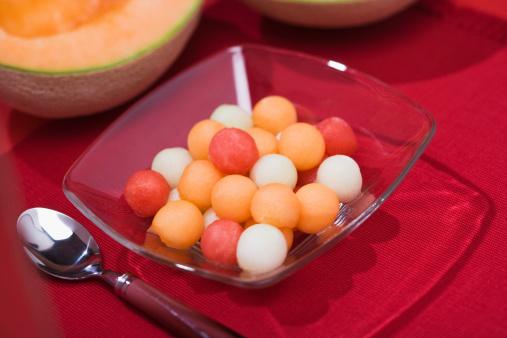 スイカ「Assorted melon balls」:スマホ壁紙(9)