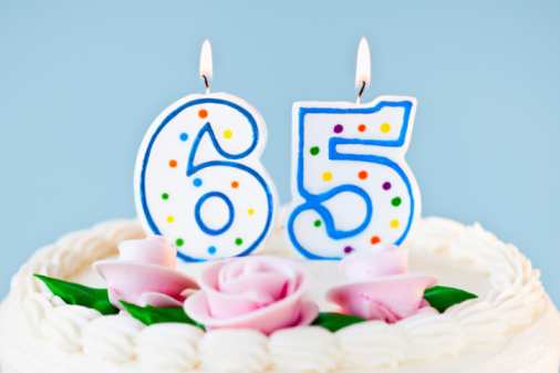 Number「Birthday for sixty five year old」:スマホ壁紙(2)