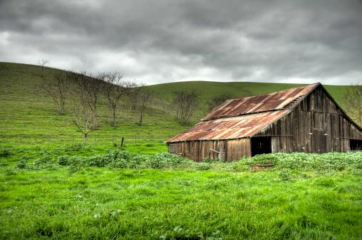 High Dynamic Range Imaging「Old Weathered Barn (HDR)」:スマホ壁紙(5)