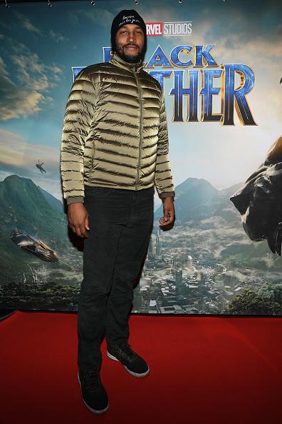 "Black Jeans「""Black Panther"" Paris Special Screening At Le Grand Rex」:写真・画像(17)[壁紙.com]"