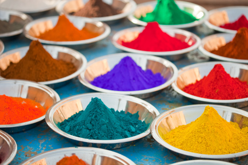 Market Stall「Indian Colorful Powder」:スマホ壁紙(1)